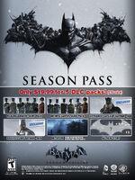 Batman ArkhamOrigins SeasonPass
