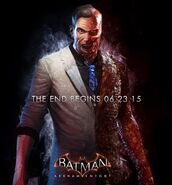 Two-Face Batman ArkhamKnightpromoad