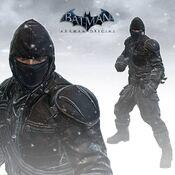 Vigilante ninja Wayne-BAO