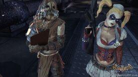 Harley and scarecrow asylum