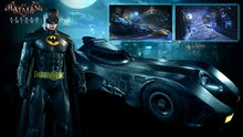Batman89 suit-batmobile skin pack