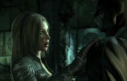 Talia and Batman
