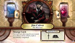 Jim Culver ~ Elder Sign - Unseen Forces