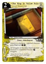 The King In Yellow Folio R-68