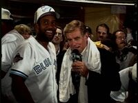 Joe Carter Tim McCarver 1993 World Series Game 6