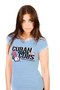 Model BlueTshirt promo
