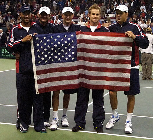 File:Davis Cup with flag.jpg