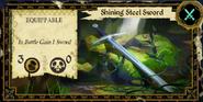 Shining Steel Sword