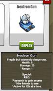 Stats Neutron Gun