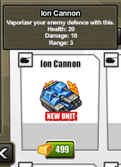 Stats Ion Cannon