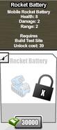 Rocket Battery
