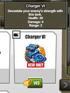 Stats Charger VI
