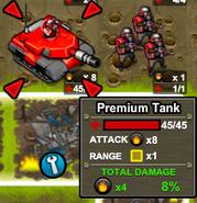 Army attack Premium tank 2
