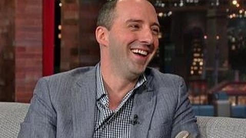 "David Letterman - Tony Hale on ""Arrested Development"