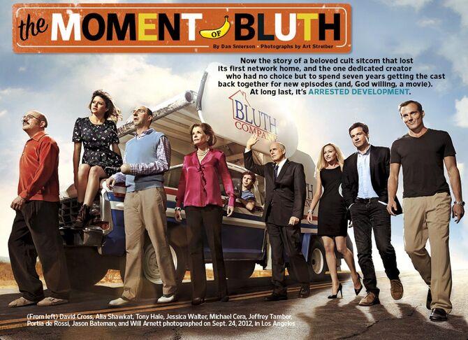 2013 EW Magazine - Arrested Development Bluths 01