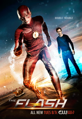 File:The Flash season 2 poster - Double Trouble.png