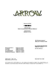 Arrow script title page - Public Enemy