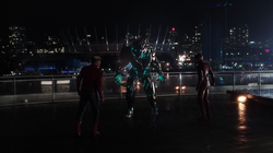 Savitar vs Barry and Jay