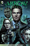 Arrow Season 2.5 chapter 20 digital cover