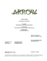 Arrow script title page - Legends of Yesterday.png