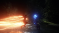Savitar jumping into his suit.png