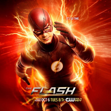 Файл:The Flash season 2 poster - It's Go Time.png