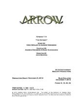 Arrow script title page - The Odyssey