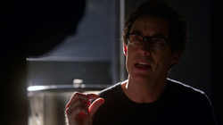 Dr. Wells explains the fragility of time to Barry