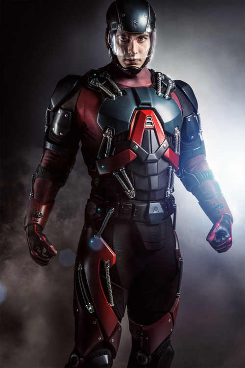 Ray Palmer as The Atom first look