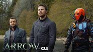 Arrow Lian Yu Scene The CW
