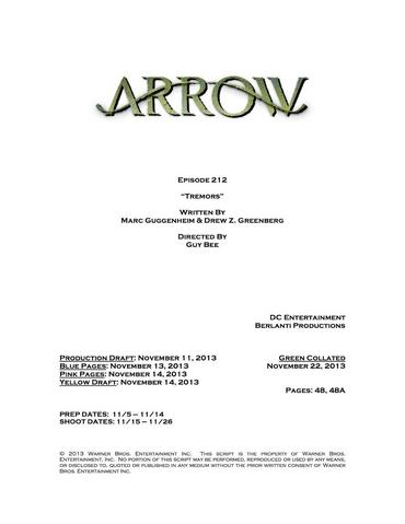 File:Arrow script title page - Tremors.png