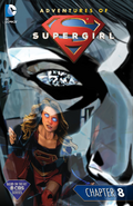 Adventures of Supergirl chapter 8 full cover