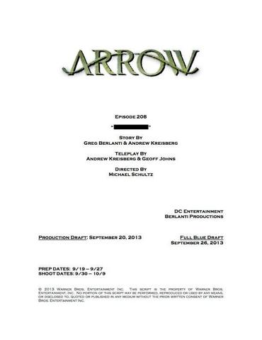 File:Arrow script title page - The Scientist.png
