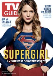 TV Guide - October 26-November 28, 2015 Supergirl issue