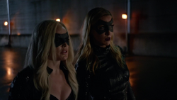 The Canary and Black Canary suits