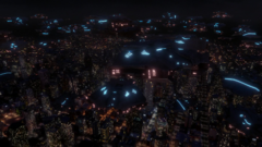 Daxamite ships swarm over National City