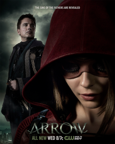 File:Arrow season 4 poster - The sins of the father are revealed.png