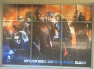 2015 SDCC poster - Defy your world. Dare to live in ours.