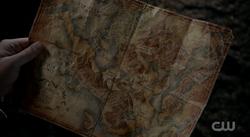 Map of Lian Yu