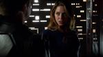Supergirl defeating Master Jailer