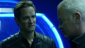 Eobard and Damien discuss the Legends.png