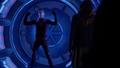 Barry Allen celebrates after locking up his child hood nemesis.png