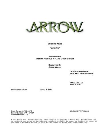File:Arrow script title page - Lian Yu.png