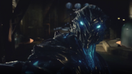 Savitar's blue eyes