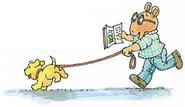 Pal in Arthur's Reading Race