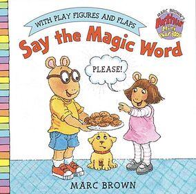 Say the Magic Word Book