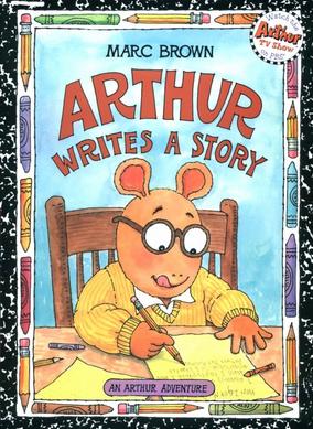 Arthur Writes a Story Book Cover