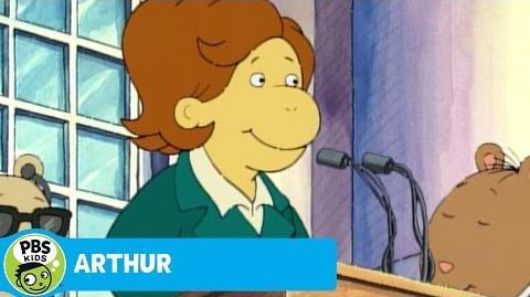 ARTHUR President Muffy Takes Arthur Away PBS KIDS