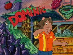 Top supermarket clerk dominic