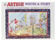 Arthur writes a story puzzle